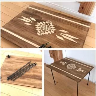 早い者勝ち‼️ オリジナル カフェテーブル (ローテーブル)