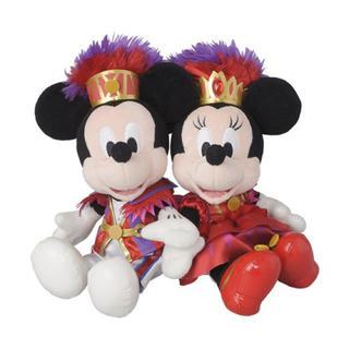 ディズニー(Disney)のミニー・オー!ミニー ミッキー ミニー ぬいぐるみセット【東京DL限定】(ぬいぐるみ)