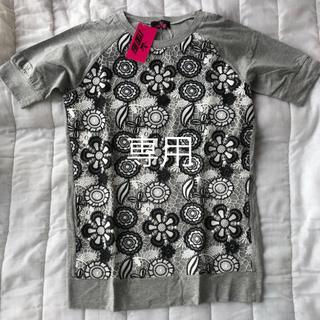 キョウコヒガ(KYOKO HIGA)のKYOKO HIGA レースTシャツ 新品未使用★(シャツ/ブラウス(長袖/七分))