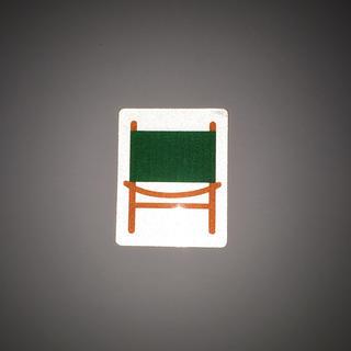 マウンテンリサーチ(MOUNTAIN RESEARCH)の【超レア】【非売品】カーミットチェア リフレクターステッカー(テーブル/チェア)