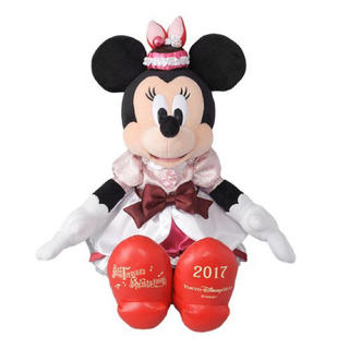 ディズニー(Disney)のミニーぬいぐるみ テーブル・イズ・ウェイティング フィナーレ2017【シー限定】(ぬいぐるみ)