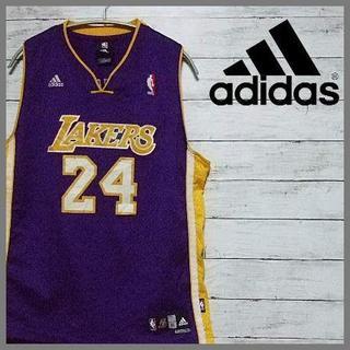 アディダス(adidas)のNBA レイカーズユニフォーム adisas XL(バスケットボール)