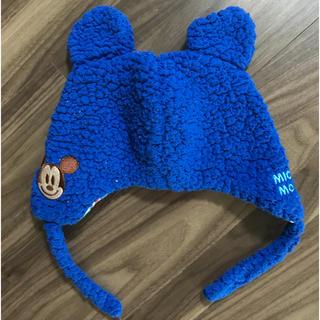 Disney - ディズニー ミッキー 耳付き 帽子 50cm ベビー