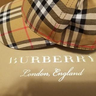 バーバリー(BURBERRY)のBURBERRY ベースボールキャップ(その他)