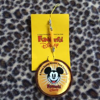 ディズニー(Disney)の非売品 ディズニー 携帯マスコット(画面クリーナー)(ストラップ/イヤホンジャック)