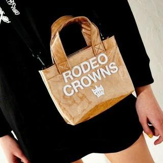 ロデオクラウンズワイドボウル(RODEO CROWNS WIDE BOWL)の👑ノベルティ❤ピニールクラフト❤ショルダー👑(ポーチ)