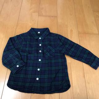 ムジルシリョウヒン(MUJI (無印良品))の100 無印 チェックシャツ(ブラウス)