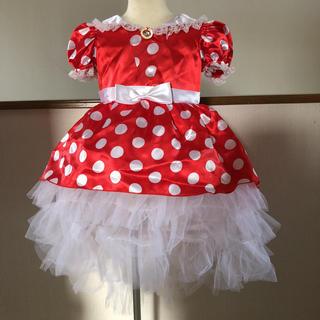 ディズニー(Disney)のディズニーストアー  ミニーちゃんのコスプレ衣装 お値下げして送料込!(衣装)