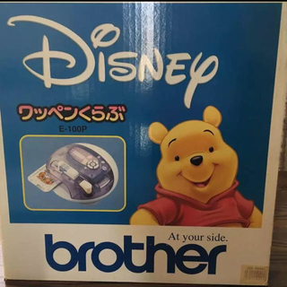 ブラザー(brother)のbrother ブラザー ワッペンくらぶ E-100P ハンドメイドに(その他)