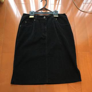 タルボット ストレッチスカート 黒  10 大きいサイズ