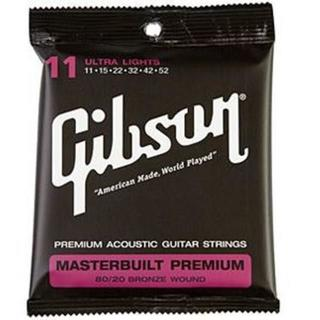 ギブソン(Gibson)の【値引き】GIBSON アコースティクギター弦 2セット(アコースティックギター)