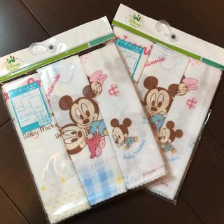 ディズニー(Disney)のpink様☆新品☆ディズニーガーゼ3枚×2セット☆(その他)