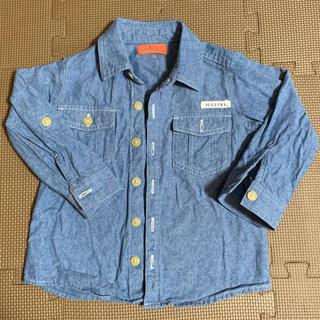 シュール(surl)の95値下げ✨サイズ デニム7分シャツ(ジャケット/上着)