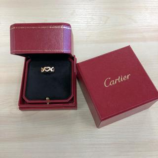 カルティエ(Cartier)のカルティエ ハート&シンボル ハートシンボルリング リング ピンクゴールド(リング(指輪))