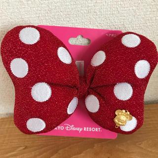ディズニー(Disney)のミニー ヘアアクセサリー 新品(ヘアゴム/シュシュ)