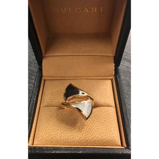 ブルガリ(BVLGARI)の数時間¥30.2万品ブルガリ★ディーヴァドリーム オニキス×パール PG 箱/保(リング(指輪))