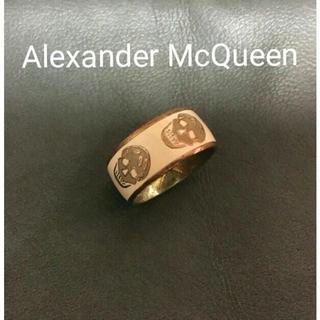 アレキサンダーマックイーン(Alexander McQueen)のアレキサンダーマックイーン 正規品 #14号 スカル 指輪 リング(リング(指輪))