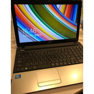 エイサー(Acer)のacer ノートパソコン 送料無料☆(ノートPC)