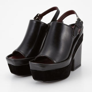 スライ(SLY)のSLY rimcovered sandal サンダル ウエッジソール(サンダル)