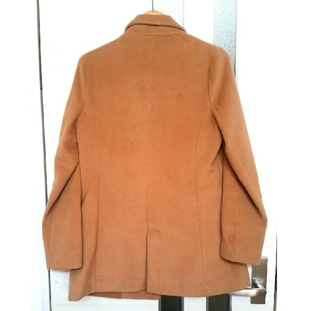 しまむら(シマムラ)のゆったりコート キャメル サイズL レディースのジャケット/アウター(チェスターコート)の商品写真