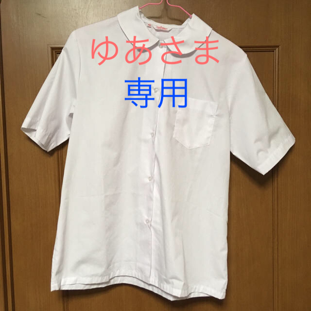 しまむら(シマムラ)の制服用 ブラウス 半袖 2枚セット キッズ/ベビー/マタニティのキッズ服 女の子用(90cm~)(ブラウス)の商品写真
