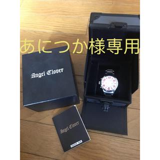 エンジェルクローバー(Angel Clover)のAngel Clover LC42SWP [レフトクラウン SS ホワイト](腕時計(アナログ))