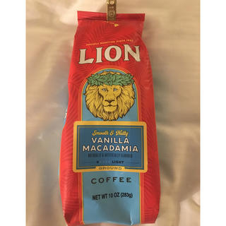 ライオン(LION)のLIONコーヒー バニラマカダミア283g(コーヒー)