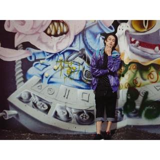 ナインルーラーズ(NINE RULAZ)のNINE RULAZ - 3/4 クロップドデニムパンツ 卍LINE/窪塚洋介(デニム/ジーンズ)