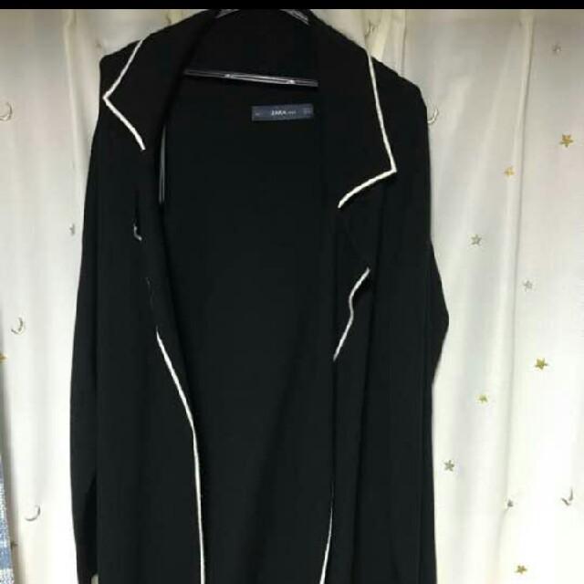 ZARA(ザラ)のZARAニットカ-ディガンL レディースのジャケット/アウター(ニットコート)の商品写真