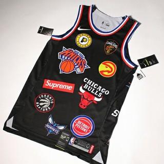 ナイキ(NIKE)の 美品  Nike NBA Jersey シュプリーム Black(タンクトップ)