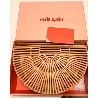 カルトガイア(CULT GAIA)の新品同様 CULT GAIA カルトガイア バンブーバッグ(ハンドバッグ)