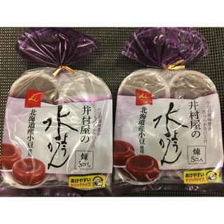 イムラヤ(井村屋)の井村屋 袋入 水ようかん 煉  62g×5個入⭐︎2袋セット(菓子/デザート)