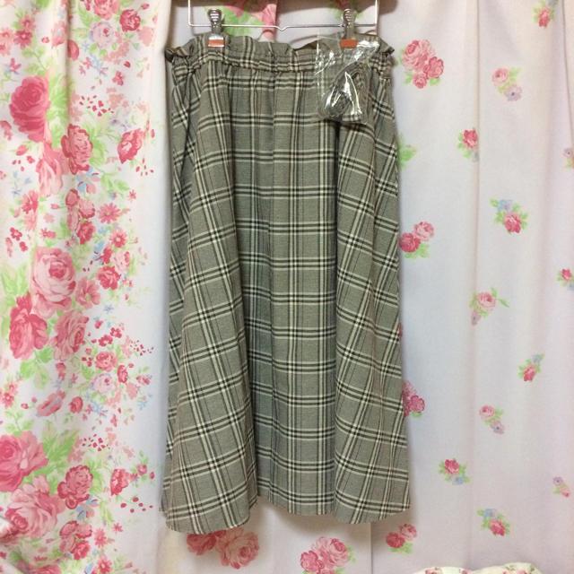 しまむら(シマムラ)の大きいサイズ ロングスカート レディースのスカート(ロングスカート)の商品写真