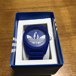 アディダス(adidas)のadidas 腕時計ブルー(腕時計)