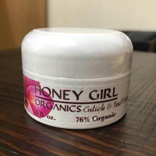 ハニーガールオーガニクス(Honey Girl Organics)のHONEY GIRL ネイルクリーム ハンドクリーム ハニーガール ネイル(ネイルケア)