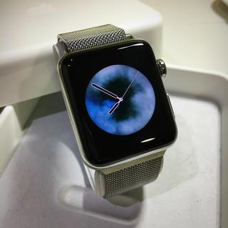 アップルウォッチ(Apple Watch)のApple Watch series3 ステンレス セルラーモデル 42mm(その他)