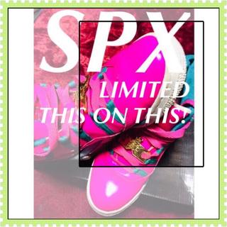 エスピーエックス(SPX)の【SPX】限定&希少カラー☆‼️ヤリ過ぎちゃってゴメンなさい‼️(スニーカー)