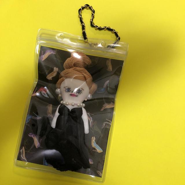 ドールチャーム   クリアケースセット ハンドメイドのアクセサリー(チャーム)の商品写真