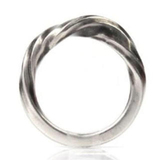 アンドゥムルメステール(Ann Demeulemeester)の美品 Ann Demeulemeester Twisted Ring サイズ2(リング(指輪))