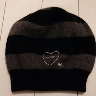 バーバリーブルーレーベル(BURBERRY BLUE LABEL)のバーバリー  ベレー帽(ハンチング/ベレー帽)