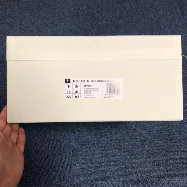 adidas(アディダス)の27cm ARSHAM FUTURE RUNNER 4D BD7400 メンズの靴/シューズ(スニーカー)の商品写真