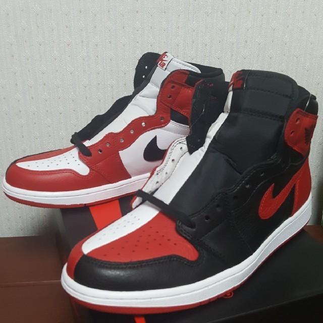 NIKE(ナイキ)の28cm 国内正規品 NIKE AIR JORDAN 1 HIGH OG NRG メンズの靴/シューズ(スニーカー)の商品写真