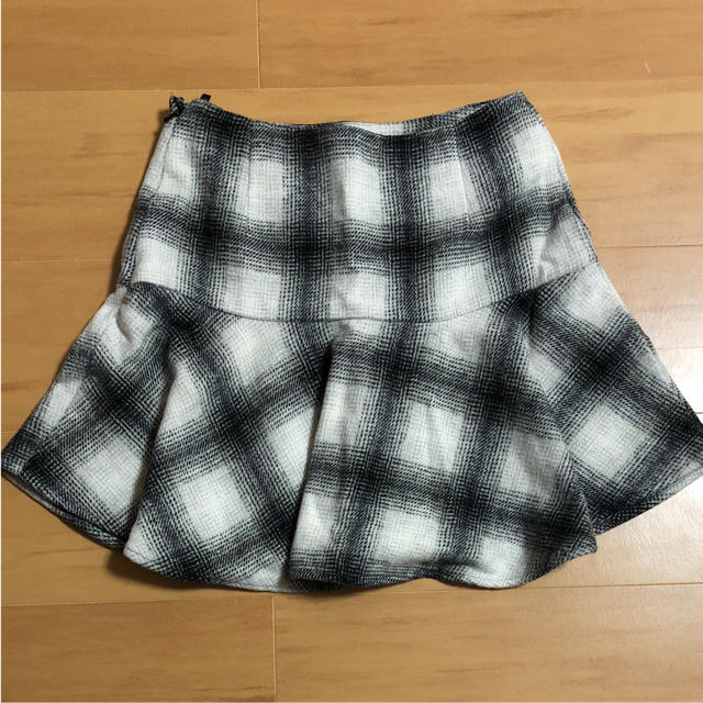 GU(ジーユー)のチェックスカート レディースのスカート(ミニスカート)の商品写真