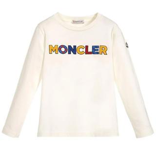 モンクレール(MONCLER)のセール!MONCLER☆長袖Tシャツ☆アイボリー 12A☆大人もOK(Tシャツ(長袖/七分))