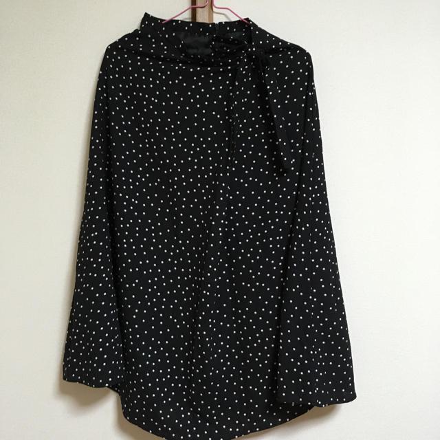 GU(ジーユー)のROLA.様専用【GU】ドットフレアスカート レディースのスカート(ロングスカート)の商品写真