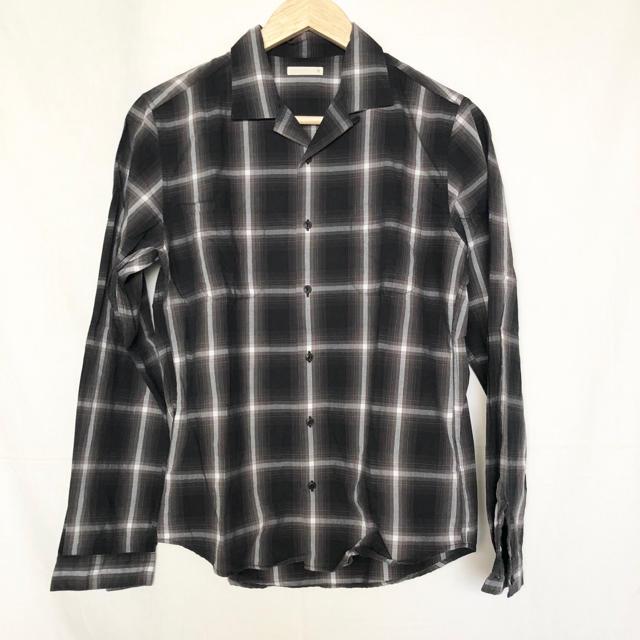 GU(ジーユー)のGU(ジーユー)オープンカラーチェックシャツ メンズのトップス(シャツ)の商品写真