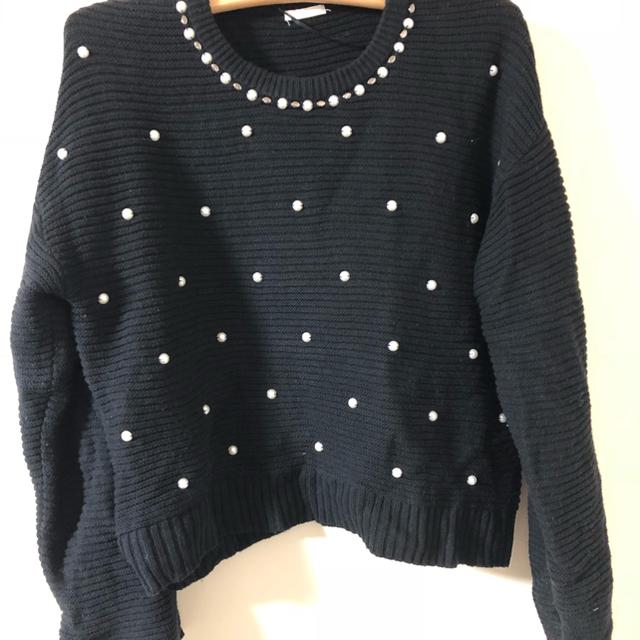GU(ジーユー)のパール ニット レディースのトップス(ニット/セーター)の商品写真