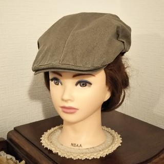 ディーゼル(DIESEL)のDIESEL ハンチング カーキ(ハンチング/ベレー帽)