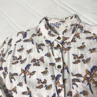 イエーガー(JAEGER)の古着 柄シャツ ブラウス(シャツ/ブラウス(長袖/七分))