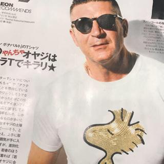 クロムハーツ(Chrome Hearts)の2枚目雑誌掲載品激レア !!!ダルタンボナパルトスヌーピーコラボtシャツ再入荷品(Tシャツ/カットソー(半袖/袖なし))